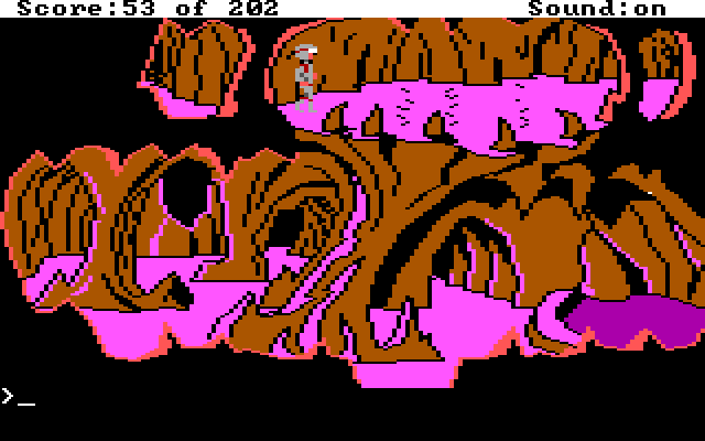 Another scene of the pink cave.