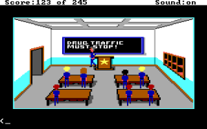 Line on Sierra: Police Quest I