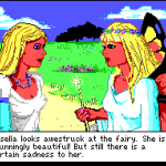 Line on Sierra: King's Quest IV, Part I
